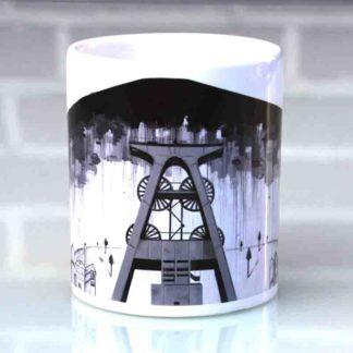 Tassen mit Ruhrpottmotiven