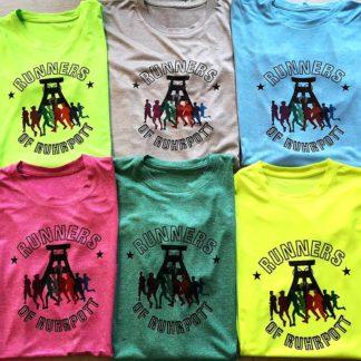 Sportshirts aus dem Ruhrpott in coolem Design - Lauf Dich glücklich!